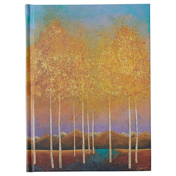 Bookbound Journal Moonlit Aspens