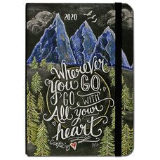 2020 16-Month Weekly Planner Go With All Your Heart