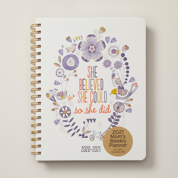 2020-2021 18-MONTH MUMS PLANNER SHE BELIEVED SHE COULD