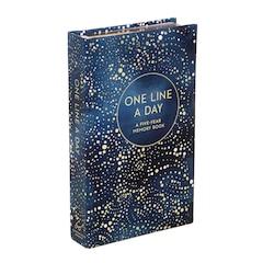 Celestial One Line A Day Memory Bk