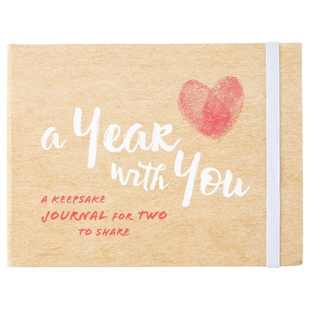 A Year With You Keepsake Journal