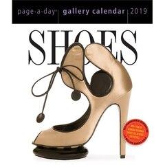 2019 Desk Calendar Gallery Shoes