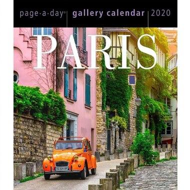 2020 Page-a-Day Desk Calendar Paris