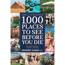 Thomas Allen 2020-2021 17 Month Weekly 1000 Places to See Planner