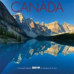 2019 12-MONTH MINI WALL CALENDAR CANADA BILINGUAL