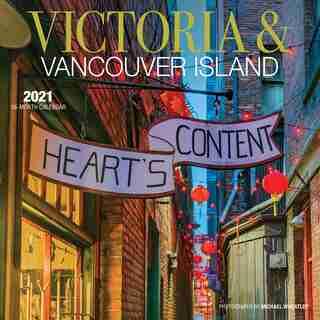2021 12-Month Wall Calendar 7X7 Victoria & VAN Island
