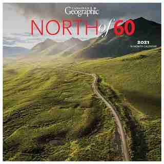2021 12-Month Wall Calendar 12X12 CAN GEO North of 60