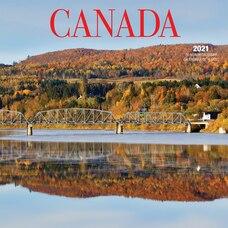 2021 Calendrier Mural Canada (Bilingue)