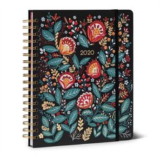 2019-2020 18-Month Hardcover Weekly Planner Wildflowers