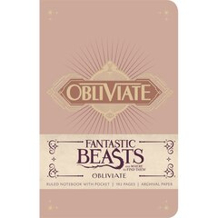 Insight Editions Fantastic Beasts Hard Cover Journal - Obliviate
