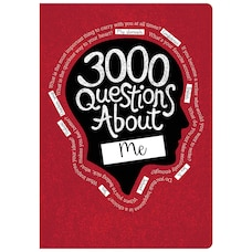 3000 Questions About Me Journal