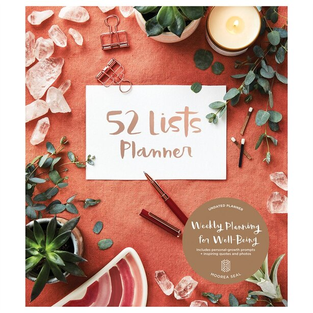 52 Lists Planner Undated