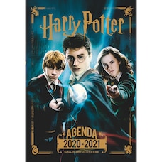 August 2020 - August 2021 HARRY POTTER IN FRENCH PLANNER