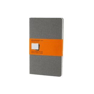 Moleskine® Cahier Ruled Large Notebook - Light Grey