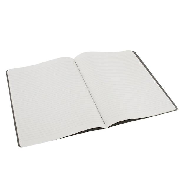 Moleskine Cahier Ruled X-Large Notebook Light Grey