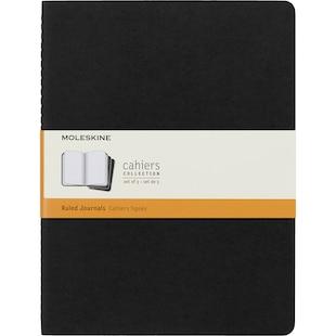 Moleskine XL Ruled Cahier Black Cover
