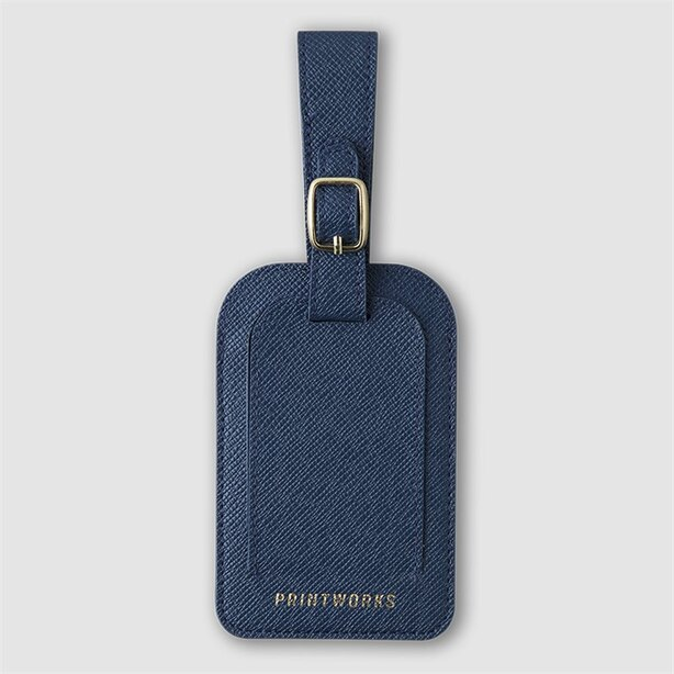 Printworks Luggage Tag Blue
