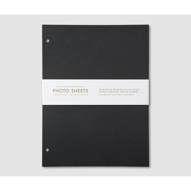 Printworks Photo Album Page Refills Large 10-Pack