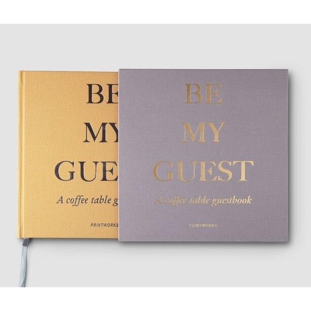 Printworks Guest Book Beige/Yellow