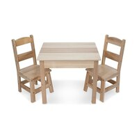 Wooden Table & Chairs Set by Melissa & Doug