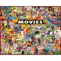 White Mountain Puzzles(r) Jigsaw Puzzle 1000 Pieces The Movies by White Mountain Puzzles