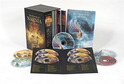 The Chronicles Of Narnia 7-book And Audio Box Set by C. S. Lewis