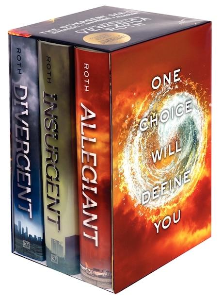 Divergent Series 3-book Box Set: Divergent, Insurgent, Allegiant de Veronica Roth