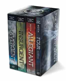 Divergent Series Four-Book Paperback Box Set: Divergent, Insurgent, Allegiant, Four de Veronica Roth