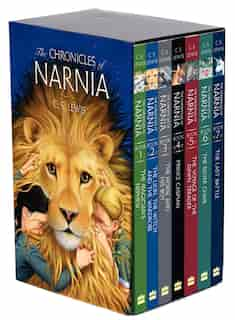 The Chronicles Of Narnia Paperback 7-book Box Set: 7 Books In 1 Box Set by C. S. Lewis