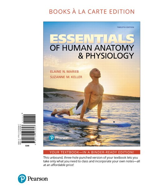 Essentials Of Human Anatomy & Physiology, Books A La Carte Edition by Elaine Marieb