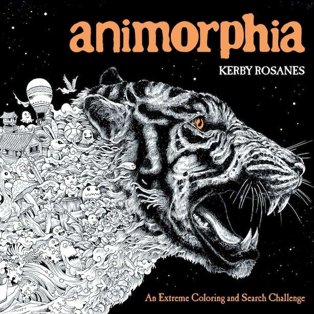 Animorphia: An Extreme Coloring And Search Challenge by Kerby Rosanes