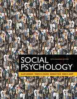 Revel -- Print Offer -- For Social Psychology, Sixth Canadian Edition de Elliot Aronson