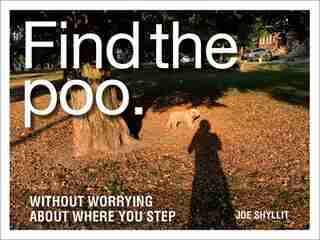 Find The Poo: Without Worrying About Where You Step by Joe Shyllit