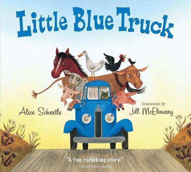 Little Blue Truck (padded Board Book) by Alice Schertle
