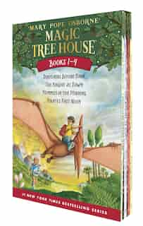 Magic Tree House Books 1-4 Boxed Set by Mary Pope Osborne