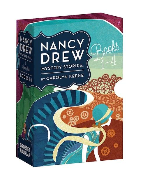 Nancy Drew Mystery Stories Books 1-4 by Carolyn Keene