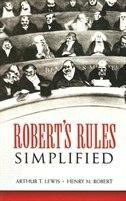 Robert's Rules Simplified de Arthur T. Lewis
