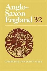 Anglo-Saxon England by Michael Lapidge