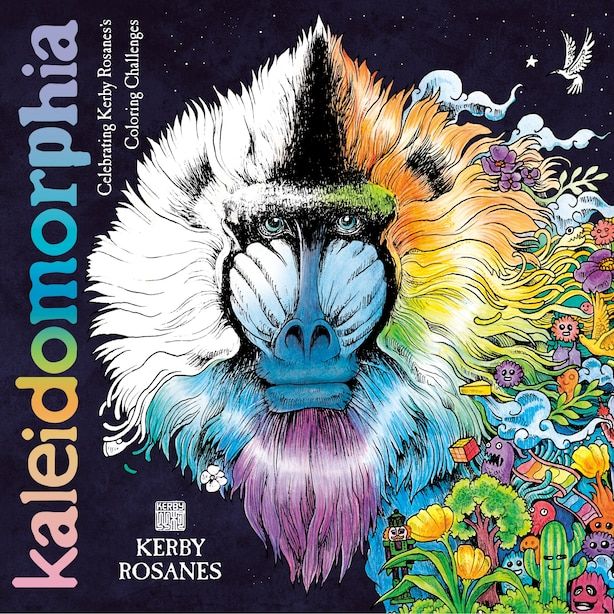 Kaleidomorphia: Celebrating Kerby Rosanes's Coloring Challenges by Kerby Rosanes