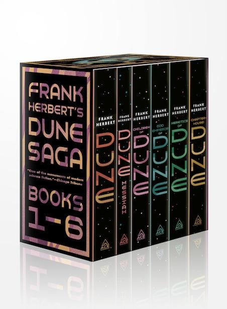 Frank Herbert's Dune Saga 6-book Boxed Set: Dune, Dune Messiah, Children Of Dune, God Emperor Of Dune, Heretics Of Dune, And Chapterhouse: Dune by FRANK HERBERT