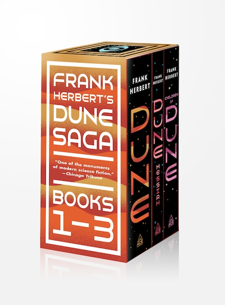 Frank Herbert's Dune Saga 3-book Boxed Set: Dune, Dune Messiah, And Children Of Dune by FRANK HERBERT
