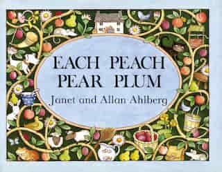 Each Peach Pear Plum Board Book by Allan Ahlberg