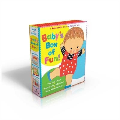 Baby's Box of Fun: A Karen Katz Lift-the-Flap Gift Set: Where Is Baby's Bellybutton?; Where Is Baby's Mommy?: Toes, Ea de Karen Katz