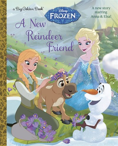 A New Reindeer Friend (disney Frozen) by Rh Disney