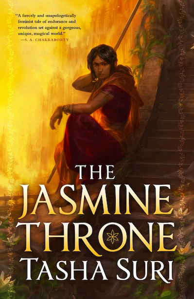 The Jasmine Throne (hardcover Library Edition) by Tasha Suri