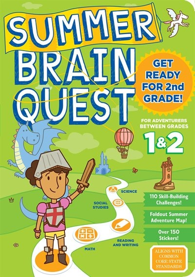 Summer Brain Quest: Between Grades 1 & 2 by Workman Publishing