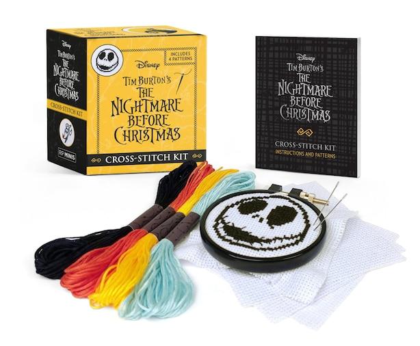 Disney Tim Burton's The Nightmare Before Christmas Cross-stitch Kit de Tim Burton
