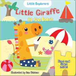 Little Giraffe at the Beach by Nick Ackland