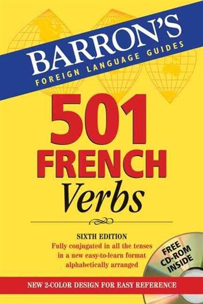 501 French Verbs: With CD-Rom de Christopher Kendris  Ph.d.
