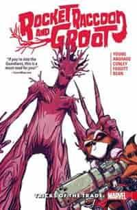 Rocket Raccoon & Groot Vol. 1: Tricks Of The Trade by Skottie Young
